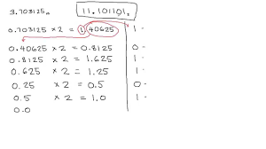 decimal fraction to binary conversion youtube