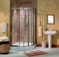 bathroom corner shower ideas glass windows with blinds rectangle