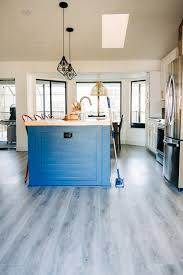 can i put cabinets on vinyl plank flooring the secret to cleaning luxury vinyl plank floors