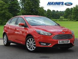 used 2016 ford focus hatchback titanium haynes ford maidstone