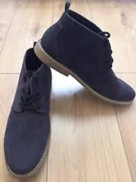 s lace up boots size 11 twisted soul heritage s navy lace up suede desert boots size