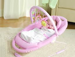 Small Bedroom Glider Chairs Furniture Modern Electric Pink Baby Girls Rocking Chair Cool