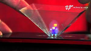 Hologramm Le 3d Hologram Phone Projection