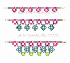 pattern crystal necklace images Free pattern for necklace may day beads magic jpg