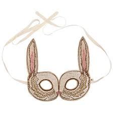 bunny mask bunny mask coral and tusk