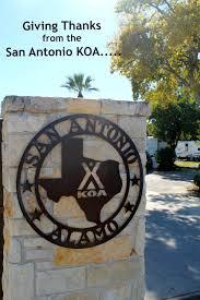 giving thanks from the san antonio koa