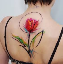 192 best watercolor tattoos images on pinterest drawings flower