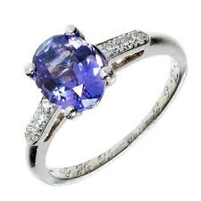 purple diamond engagement rings 2 05 carat blue violet purple sapphire diamond engagement platinum