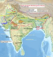 Great Plains Map Divisions Of Indo Gangetic Brahmaputra Plains Pmf Ias