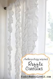 Curtains With Ruffles Ruffle Curtains Tutorial Find It Make It It