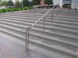 stair railings exterior glass stair railings exterior
