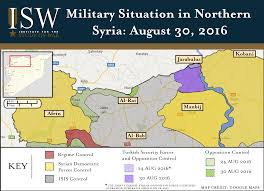 Syria Situation Map by Turkish Incursion Into Northern Syria Signals Turning Point In