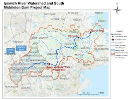 world river map image 2 south middleton dam ipswich river watershed association