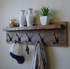 best 25 rustic coat rack ideas on pinterest diy coat rack