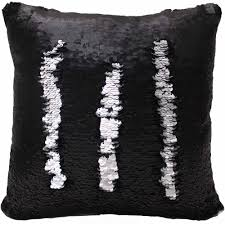 Posh Home Sequined Mermaid Decorative Pillow Walmart
