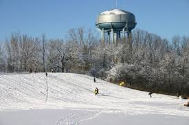 panoramio photo of sledding hill rowden park lapeer mi