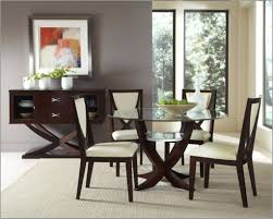 Clear Glass Top Leather Modern Dining Table Sets Dallas Texas - Dining room furniture dallas