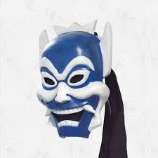 spirit halloween panama city fl prince zuko u0027s blue spirit kabuki mask inspired by