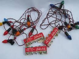 vintage christmas tree lights of vintage electric christmas tree lights w original old boxes