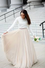 wedding skirt 40 totally chic wedding dress separate ideas for unique brides
