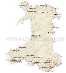 Map Of Wales Wales Maps By Freeworldmaps Net