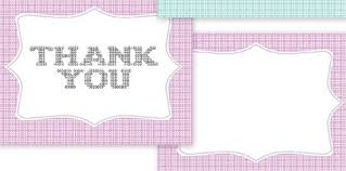 thank you card popular images blank thank you card template free