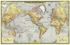 Europe World Map by 1943 World Map Historical Maps