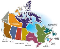map of canada by province map of canada by province major tourist attractions maps
