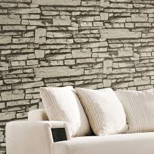 16 textured wallpaper living room nature plain green brown bamboo