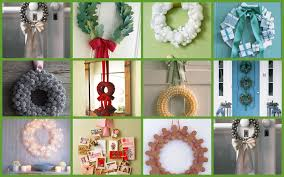 Decorative Wreaths For Home by Homemade Outdoor Christmas Decorations Home Design Picture 5