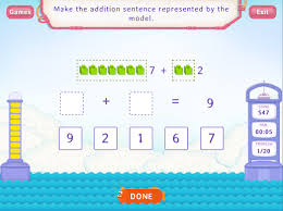 addition sentences within 10 worksheets first grade math