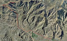 Palm Springs Map San Jacinto Loop 2009 Popupbackpacker Com