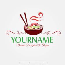 online free logo maker noodles logo design logo restaurant