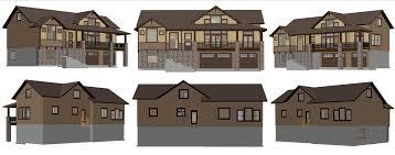 columbia 3 car 4 bed 2599 uphill lot plan u2013 utah home design