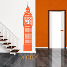 aliexpress com buy big ben london clock uk landmark scenery wall aliexpress com buy big ben london clock uk landmark scenery wall sticker vinyl art window decal door stencil room decoration s m l from reliable room