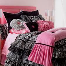 Best Pink Black And White Teens Room Images On Pinterest - Girls bedroom ideas pink and black
