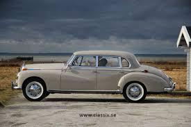 mercedes adenauer mercedes 300 w186 adenauer 1957 sedan sold classicdigest com