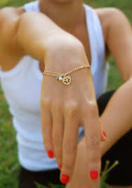 gold chain heart bracelet images Oh yes please so utterly delicate feminine love gold jpg