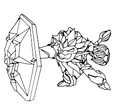 skylanders trap team wildfire sketch coloring page coloring home