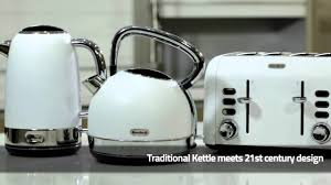 White Kettles And Toasters Breville Opula Collection Youtube