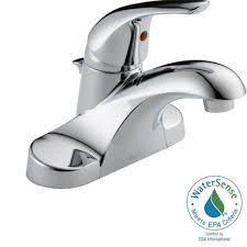 bathrooms design delta bathroom faucets lowes single hole faucet