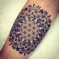 collection of 25 flower of life tattoo