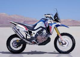 honda motorsport the honda africa twin enduro concept is a giant dirt bike cycle