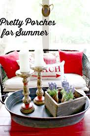 Summer Porch Decor by 10 Front Porch Decorating Ideas Vintage American Home