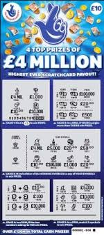 Lottery Instant Wins - the biggest scratch card wins in the uk