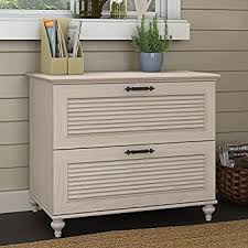 Lateral Files Cabinets Amazon Com Sauder Costa Lateral File In Chalked Chestnut Home