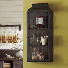 Rustic Bathroom Wall Cabinets - rustic wall cabinet from country door ultra chic industrial