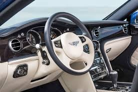 bentley steering wheels 2015 bentley mulsanne speed first drive motor trend