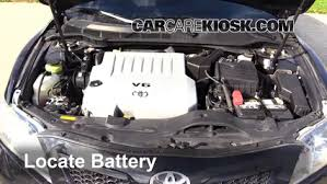 2011 toyota camry battery how to jumpstart a 2007 2011 toyota camry 2007 toyota camry xle