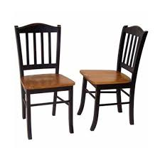 Dining Wood Chairs Boraam 30136 Shaker Chair Oak Set Of 2 Kitchen Dining